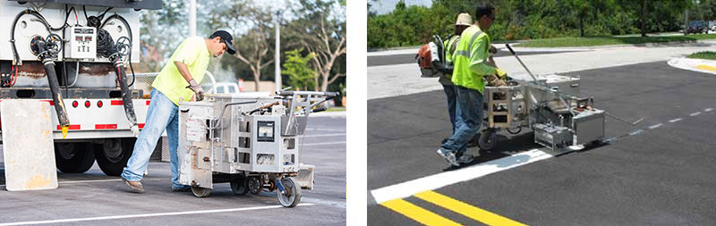 Pavement maintenance and road striping - Southern Striping, LLC